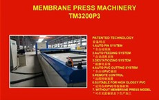 TM3200P3 Membrane Press Machine 160429