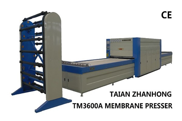 TM3600A Membrane Press Machine